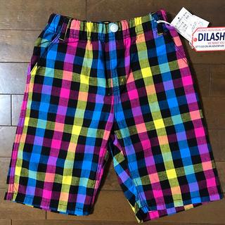 DILASH - 新品タグ付き ディラッシュ 綿麻混 4分丈 パンツ 男の子 140cm