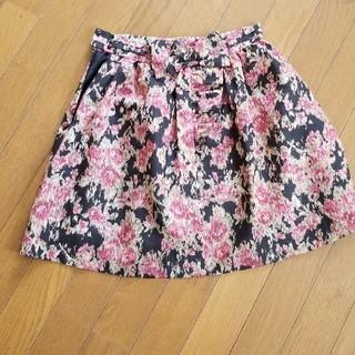 LAISSE PASSE - レッセパッセ ミニスカート 花柄