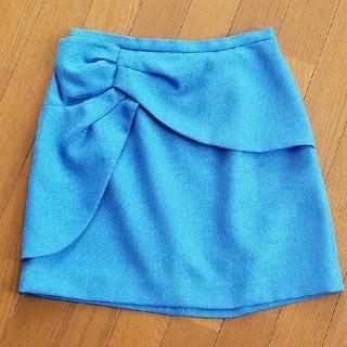 Rirandture - リランドチュール ミニスカート 青 ブルー