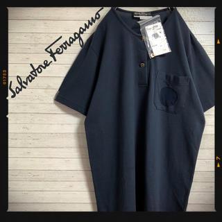 サルヴァトーレフェラガモ(Salvatore Ferragamo)の新品未使用 フェラガモ 半袖Tシャツ 正規品 定価5万      (Tシャツ(半袖/袖なし))