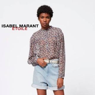 Isabel Marant - イザベルマラン シルクプリントブラウス