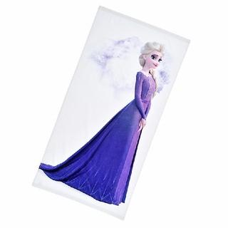 アナトユキノジョオウ(アナと雪の女王)の新品 Disney アナと雪の女王2 バスタオル ホワイト(キャラクターグッズ)