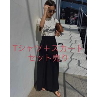 Ameri VINTAGE - Ameri vintage  コーデ売り Tシャツ スカート