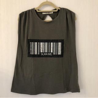 アウラアイラ(AULA AILA)のアウラアイラ デザインTシャツ トップス(Tシャツ(半袖/袖なし))