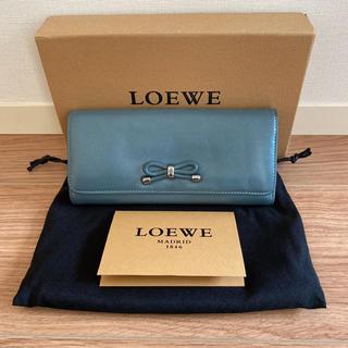 ロエベ(LOEWE)のロエベ   LOEWE ナッパレザー 長財布(財布)