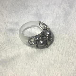 synu52様専用 クリアリング シルバー 9号(リング(指輪))