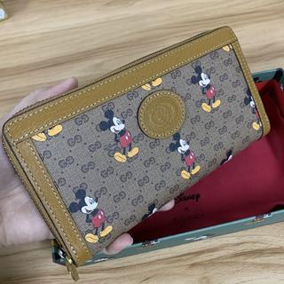 Gucci - GUCCI ディズニー 財布 ミッキー 財布 長財布