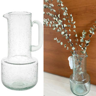 Francfranc - 新品 フランフラン Francfranc 花瓶 フラワーベース バブル ガラス