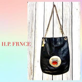 アッシュペーフランス(H.P.FRANCE)の【I.P.FRNCE】アッシュペーフランスチェーンショルダーバッグ(ショルダーバッグ)