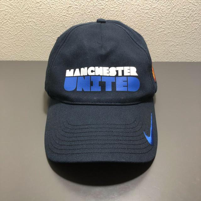 NIKE(ナイキ)の激レア NIKE ManchesterUnited cap メンズの帽子(キャップ)の商品写真