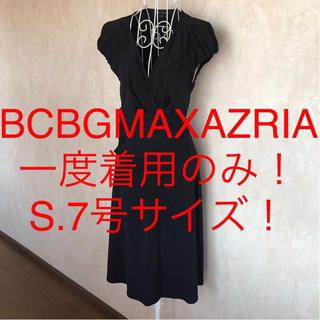 BCBGMAXAZRIA - ☆BCBGMAXAZRIA/ビーシービージーマックスアズリア☆半袖ワンピースS