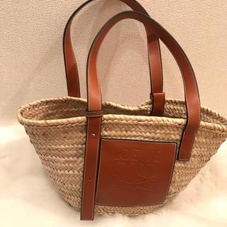 ロエベ(LOEWE)のカゴバッグ 鞄 レザー ハンドバッグ かばん かごバッグ レディース ブラウン (かごバッグ/ストローバッグ)