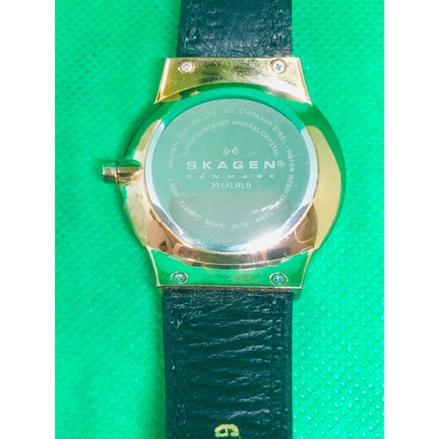 SKAGEN(スカーゲン)のskagen スカーゲン 331XLRLD 腕時計 作動確認済み レディースのファッション小物(腕時計)の商品写真