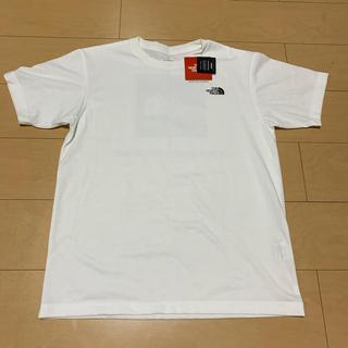 THE NORTH FACE - ❤️タグ付き ノースフェンス スクエアロゴ Tシャツ ホワイト❤️