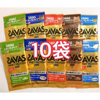 SAVAS - <計10袋>明治 meiji ザバス ホエイプロテイン トライアル 5種類
