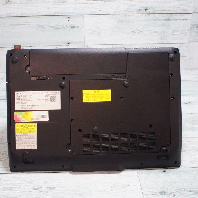 NEC(エヌイーシー)のNEC win10 i3 4GB 500GB Sマルチ 15.6 wifi スマホ/家電/カメラのPC/タブレット(ノートPC)の商品写真