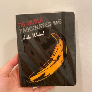 アンディウォーホル(Andy Warhol)のアンディウォーホル 🍿 スケジュールノート 新品未使用(カレンダー/スケジュール)