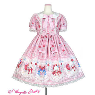 Angelic Pretty - be my valentine ワンピース