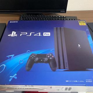 PlayStation4 - PlayStation®4 Pro ジェット・ブラック 1TB 箱付き