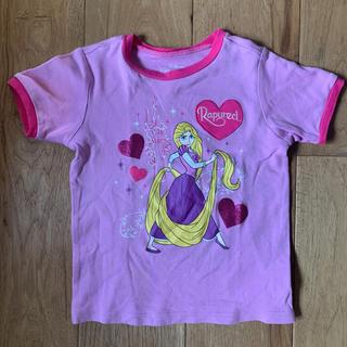 ディズニー(Disney)の【美品】コストコ ラプンツェル パジャマ Tシャツのみ 4T(パジャマ)