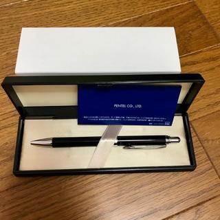 ペンテル(ぺんてる)のボールペン 油性 ブラック クール 未使用(ペン/マーカー)