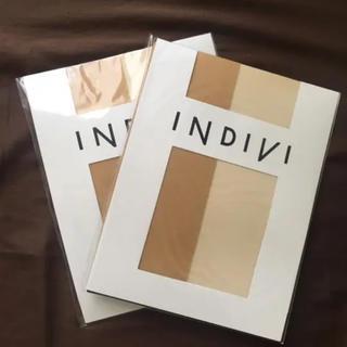 INDIVI - INDIVI インディヴィ パンスト ストッキング タイツ