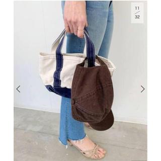 アパルトモンドゥーズィエムクラス(L'Appartement DEUXIEME CLASSE)のL.L.Bean Canvas tote bag mini ネイビー 未開封新品(トートバッグ)