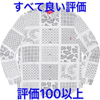 Supreme - 【完全未開封】Mサイズ/Paisley Grid Shirt【最安値】