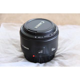 Canon - 美品 Canon EF50mm F1.8 II 単焦点レンズ 一眼レフ