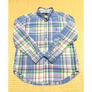 ラルフローレン(Ralph Lauren)のラルフローレン チェックシャツ 130cm(ブラウス)