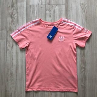 オリジナル(Original)の【海外限定】アディダスオリジナルス ロックアップ Tシャツ ピンク 140(Tシャツ/カットソー)