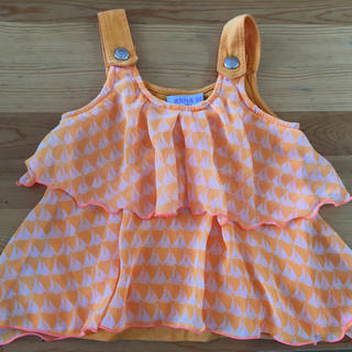 アナスイミニ(ANNA SUI mini)のアナスイミニ チュニック タンクトップ(Tシャツ/カットソー)
