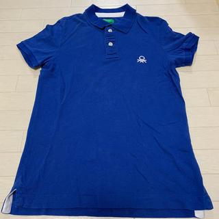 ベネトン(BENETTON)の【ベネトン】  ワンポイント ポロシャツ ゴルフ テニス Mサイズ(ポロシャツ)