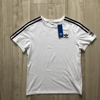 オリジナル(Original)のありす97様 専用 アディダスオリジナルス ロックアップ Tシャツ 白 130(Tシャツ/カットソー)