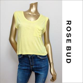 ROSE BUD - ROSE BUD ポケット ノースリーブ トップス カットソー♡ナノユニバース