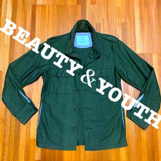 ビューティアンドユースユナイテッドアローズ(BEAUTY&YOUTH UNITED ARROWS)のBEAUTY&YOUTH  ミリタリージャケット(ミリタリージャケット)