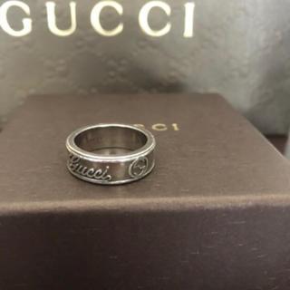 グッチ(Gucci)のGUCCI リング 17号(リング(指輪))