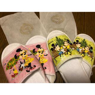 ディズニー(Disney)の香港ディズニーランドホテル スリッパ(スリッパ/ルームシューズ)