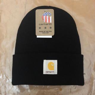 カーハート(carhartt)のカーハート ニット帽 黒(ニット帽/ビーニー)