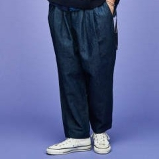 COMOLI - SAYATOMO Karusan denim pants(navy)