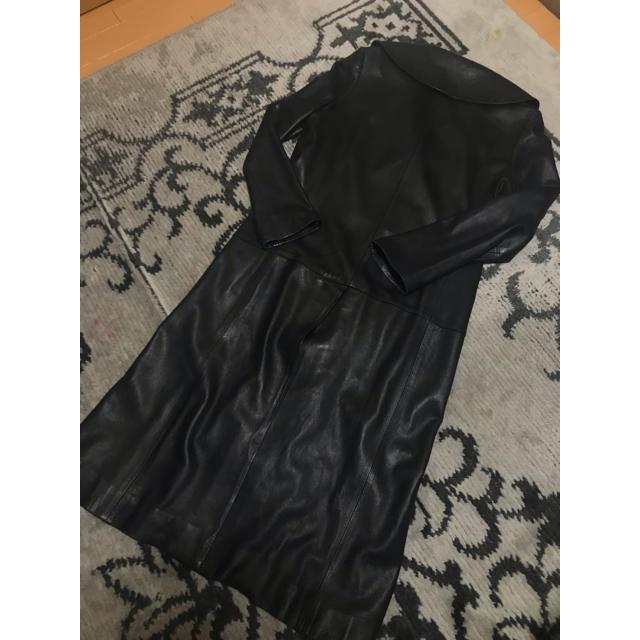 Yohji Yamamoto(ヨウジヤマモト)の激レア!ヨウジヤマモト  レザーコート  メンズのジャケット/アウター(レザージャケット)の商品写真