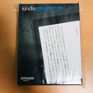 アップル(Apple)のKindle Paperwhite 第7世代 Wi-Fi  4GB ブラック(電子ブックリーダー)