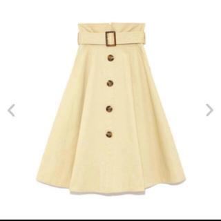 Lily Brown - lily brown ベルト付き トレンチスカート
