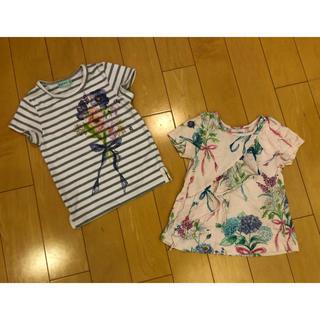 ハッカキッズ(hakka kids)のハッカキッズ  Tシャツ 100,110 2枚セット(Tシャツ/カットソー)
