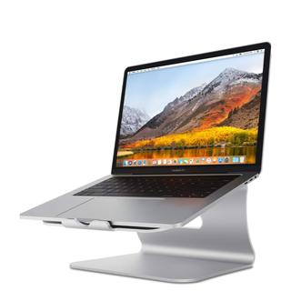 マック(Mac (Apple))のSpinido ノート PC スタンド silver 中古(PC周辺機器)