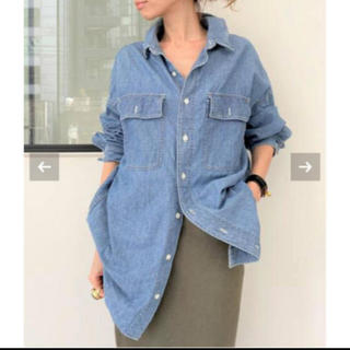 L'Appartement DEUXIEME CLASSE - L'Appartement 【レミレリーフ】Chambray シャツ