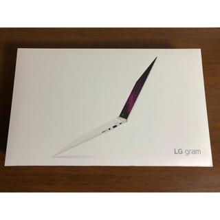 LG Electronics - 【新品未開封】LG gram 13.3インチ ダークシルバー 965g