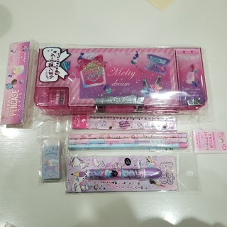 【未使用】女の子 筆記用具 セット コスメ