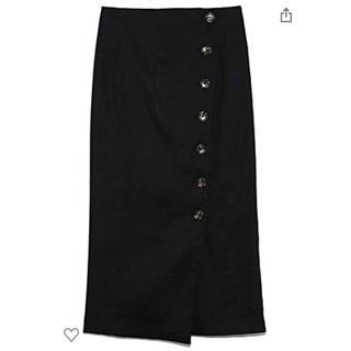 Mila Owen - ミラオーウェン Mila Owen セットアップボタンデザインタイトスカート