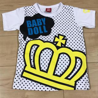 BABYDOLL - 【新品同様】BABYDOLLベビードール☆半袖Tシャツ 120
